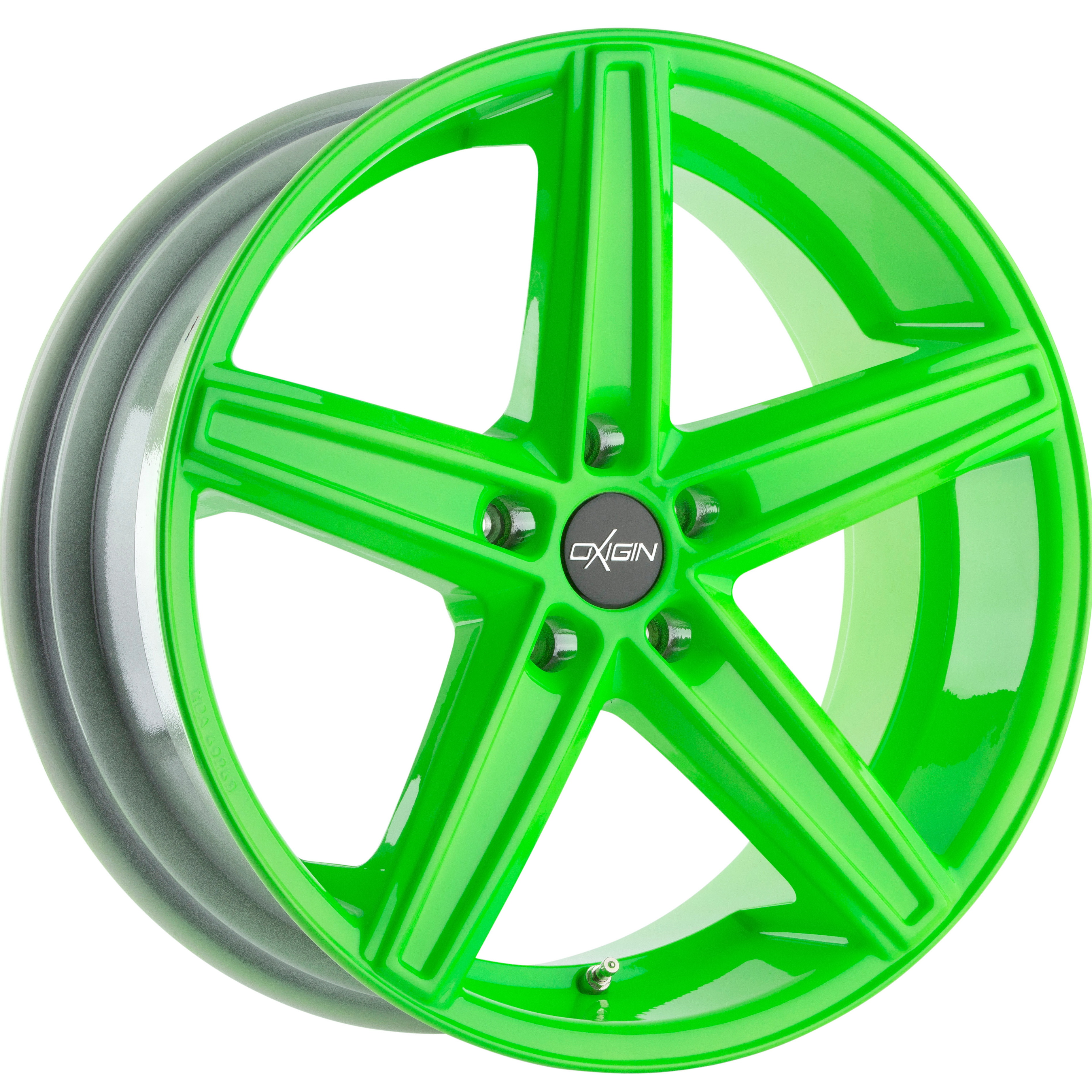 Oxigin OX 18 neon green