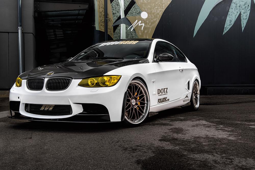 BMW mit Dotz revvo Bronze Felgen