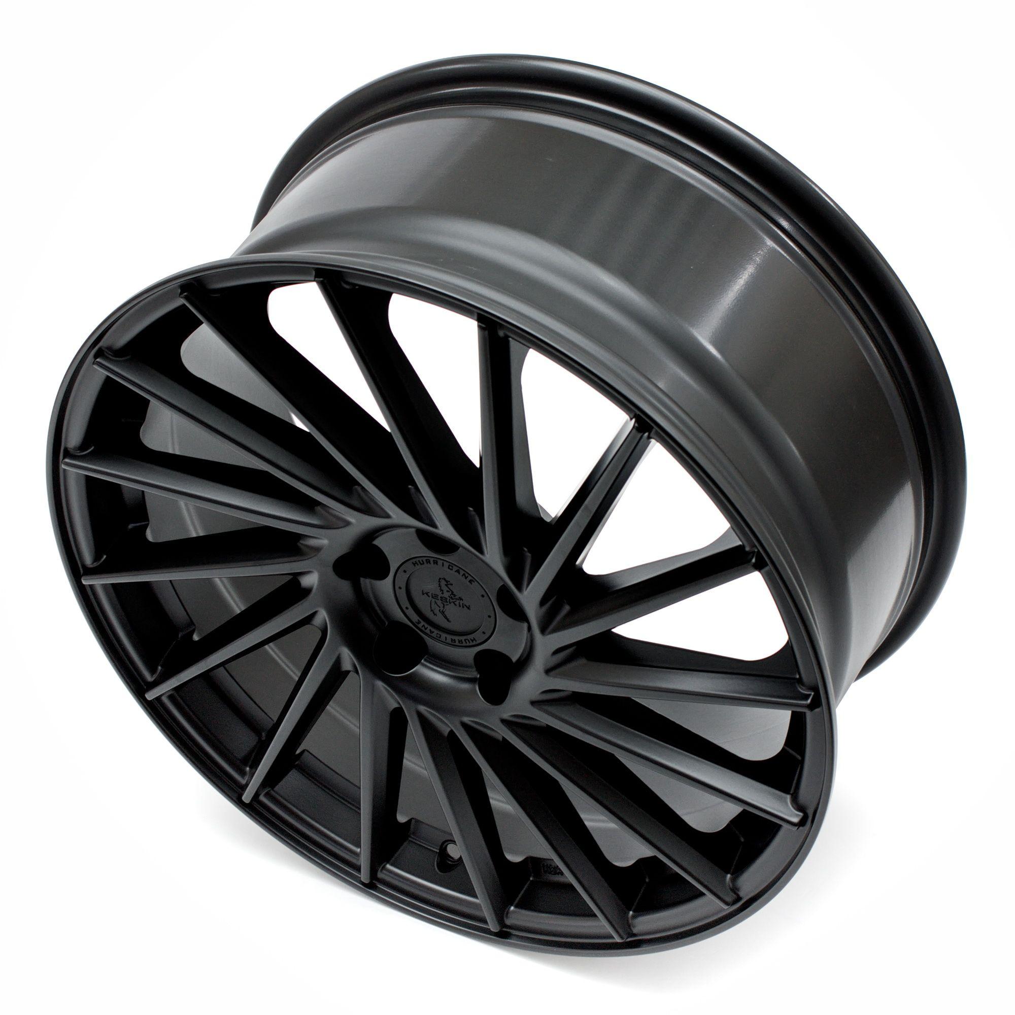 keskin kt17 felgen matt black painted schwarz in 22 zoll. Black Bedroom Furniture Sets. Home Design Ideas