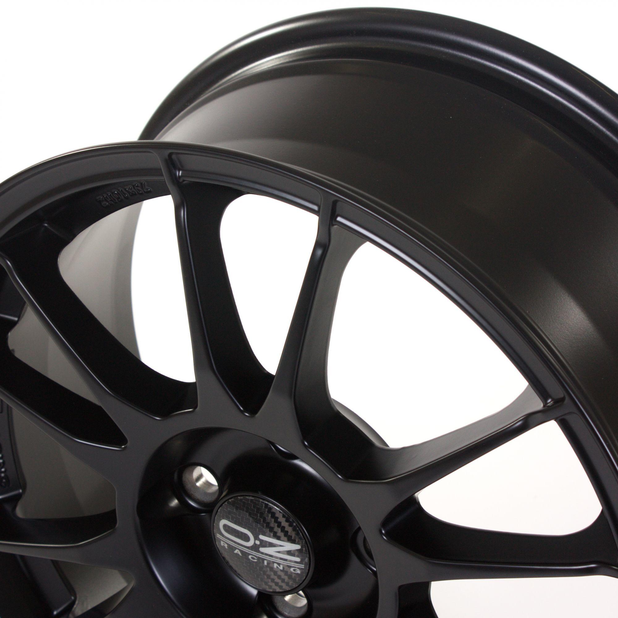 oz racing ultraleggera felgen matt black schwarz in 16 zoll. Black Bedroom Furniture Sets. Home Design Ideas