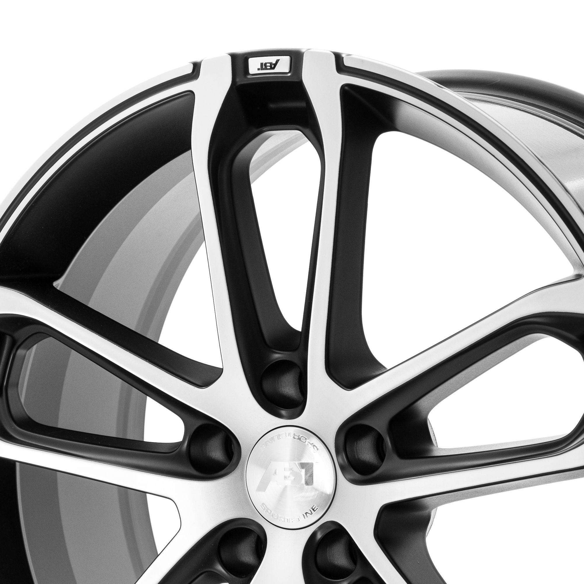 ABT Sportsline CR Felgen Black Silver silber schwarz mehrfarbig in 20 Zoll  felgenshop.de