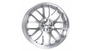 ASA AR1 Silber front polished Felge