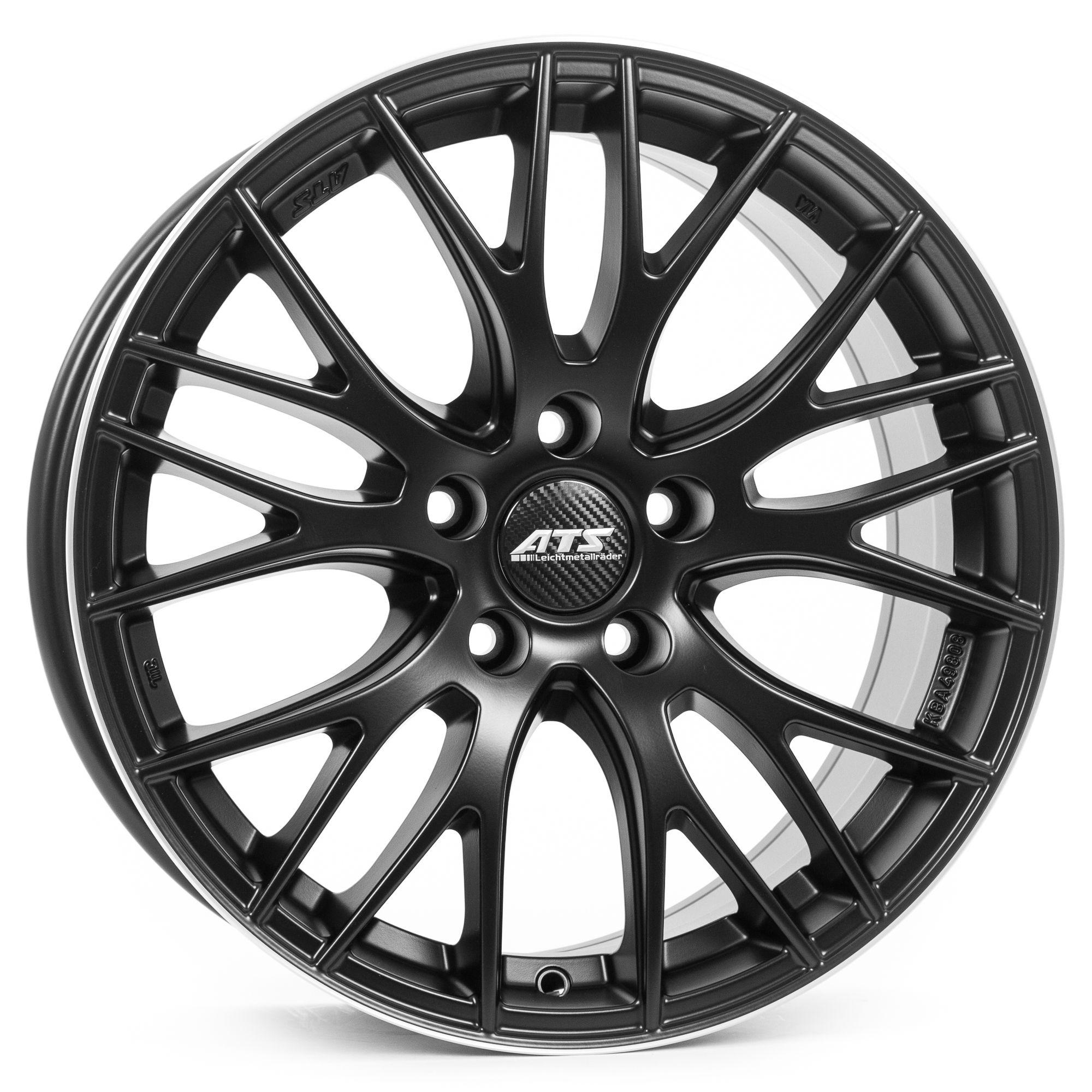 ATS Perfektion Felgen racing-schwarz / Horn poliert in 18