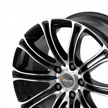 AVUS Racing AC-MB1 BLACK POLISHED