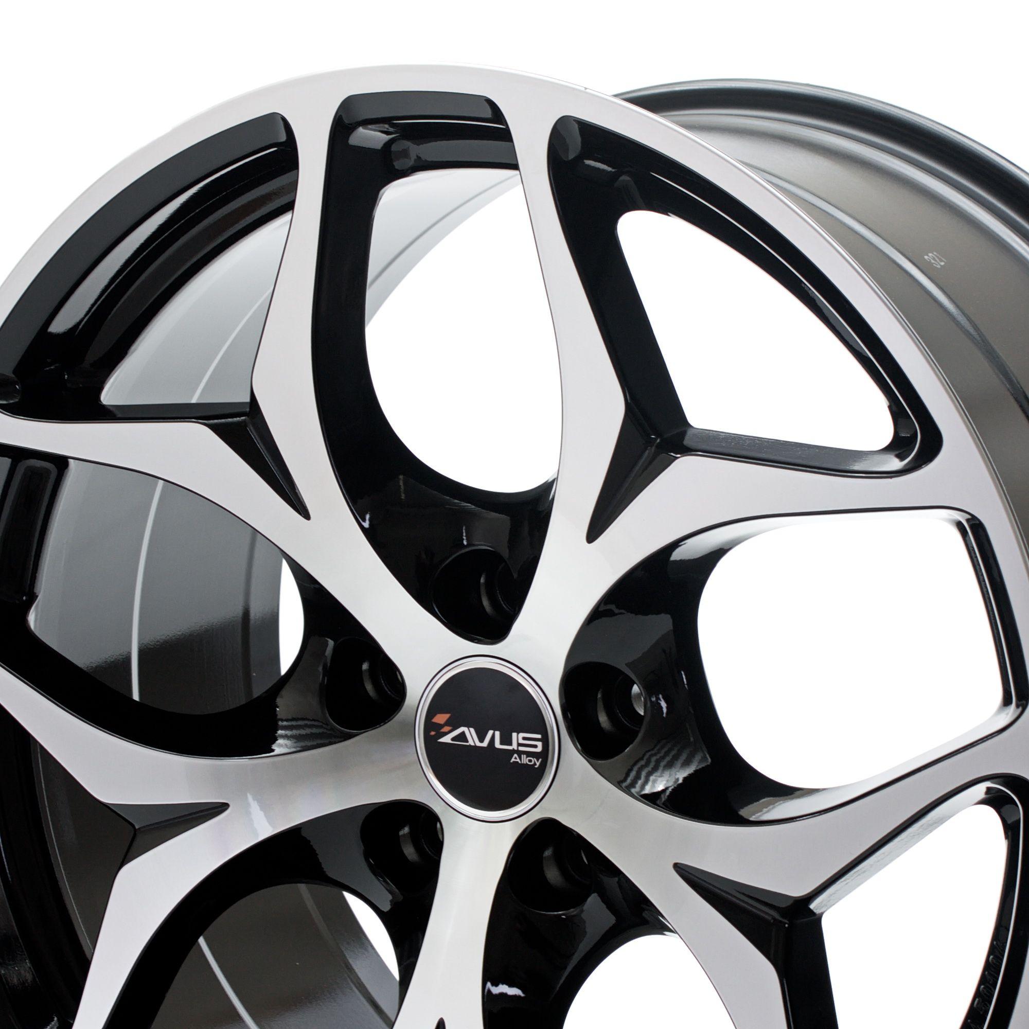 avus racing ac mb2 felgen black polished in 20 zoll. Black Bedroom Furniture Sets. Home Design Ideas