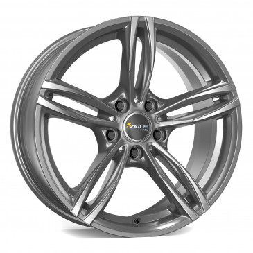 AVUS Racing AC-MB3 ANTHRACITE POLISHED