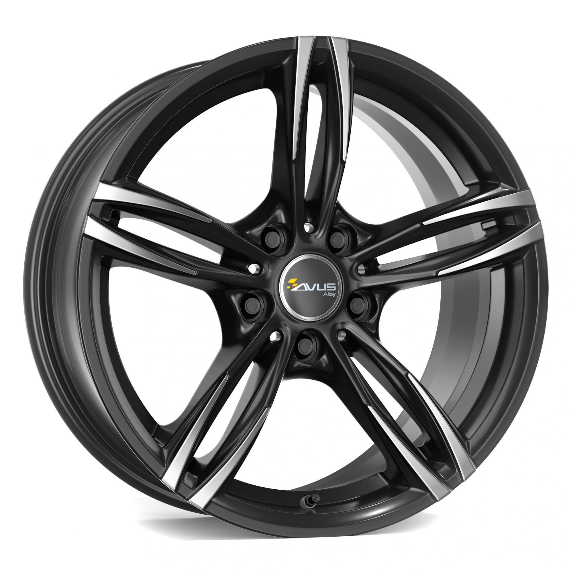 avus racing ac mb3 felgen black polished schwarz mehrfarbig in 19 zoll. Black Bedroom Furniture Sets. Home Design Ideas