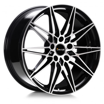 AVUS Racing AC-MB5 BLACK POLISHED