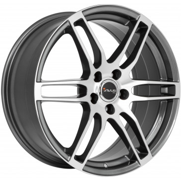 AVUS Racing AF9 ANTHRACITE POLISHED