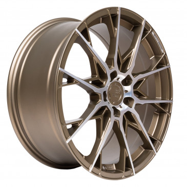 B52-Wheels X1 Bronze matt full machined