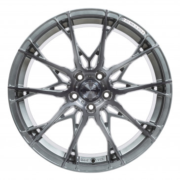 B52-Wheels X1 Smoke brushed Aluminium silver