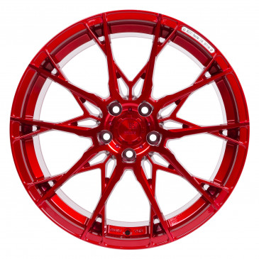 B52-Wheels X1 Candy red full machined