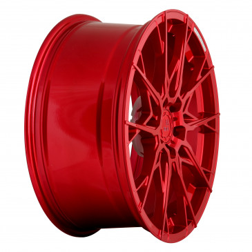 B52-Wheels X1 Candy red full painted