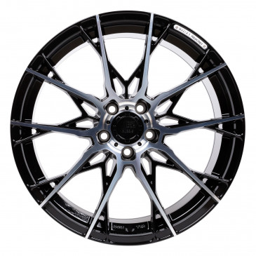 B52-Wheels X1 Night black full machined