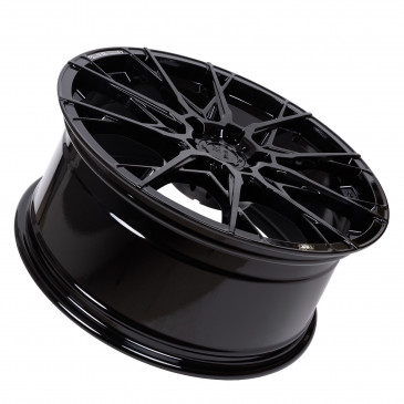 B52-Wheels X1 Night black glossy painted