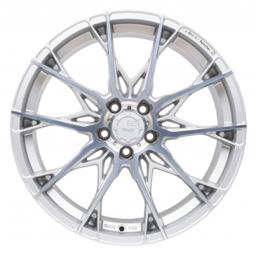B52-Wheels X1 Reflective silver matt machined