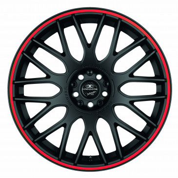 BARRACUDA Karizzma Mattblack Puresports / Color Trim rot