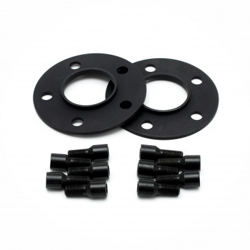 BARRACUDA Karizzma+Trackspacer Mattblack-polished / Color Trim gelb
