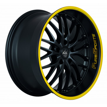 BARRACUDA Voltec T6 Mattblack Puresports / Color Trim gelb