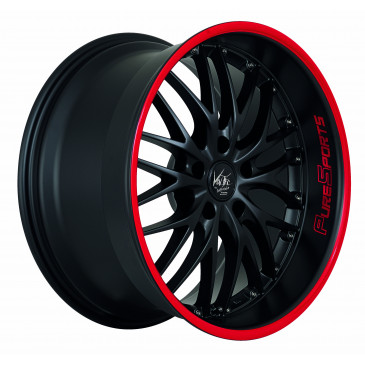 BARRACUDA Voltec T6 Mattblack Puresports / Color Trim rot