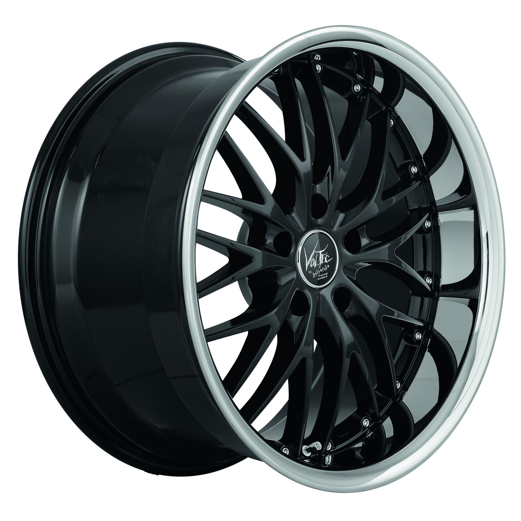 barracuda voltec t6 suv trackspacer felgen highgloss black. Black Bedroom Furniture Sets. Home Design Ideas