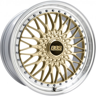 BBS Super RS gold/Felge diagedr.