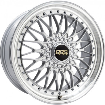 BBS Super RS brillantsilber/Felge diagedr.