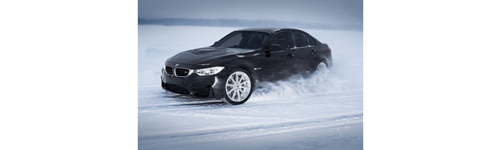 BMW mit winterfester AEZ Straight