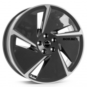 Borbet AE mistral anthracite glossy polished