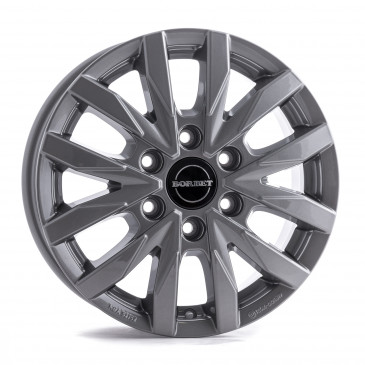 Borbet CW 6 metal grey