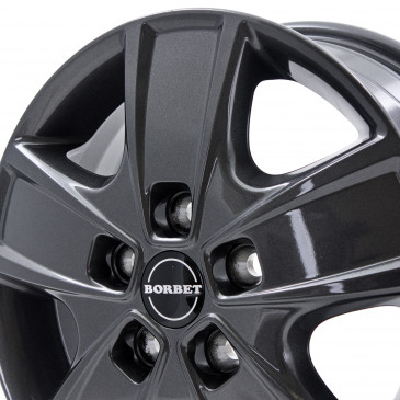 Borbet CWG mistral anthracite glossy
