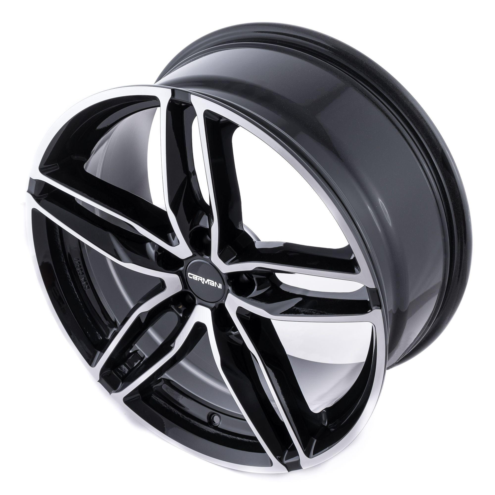 carmani 13 twinmax felgen black polish silber schwarz. Black Bedroom Furniture Sets. Home Design Ideas