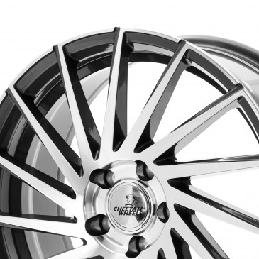 Cheetah Wheels CV.02 R/L anthrazit front polished