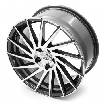 Cheetah Wheels CV.02 anthrazit front polished