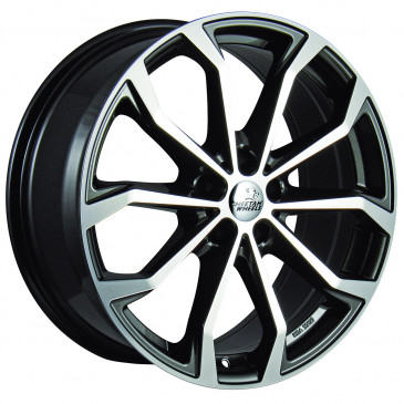 Cheetah Wheels CV.04 anthrazit front polished