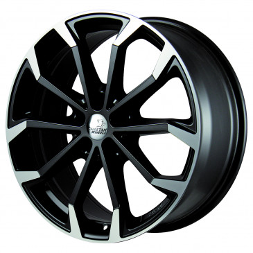 Cheetah Wheels CV.04 black matt polished