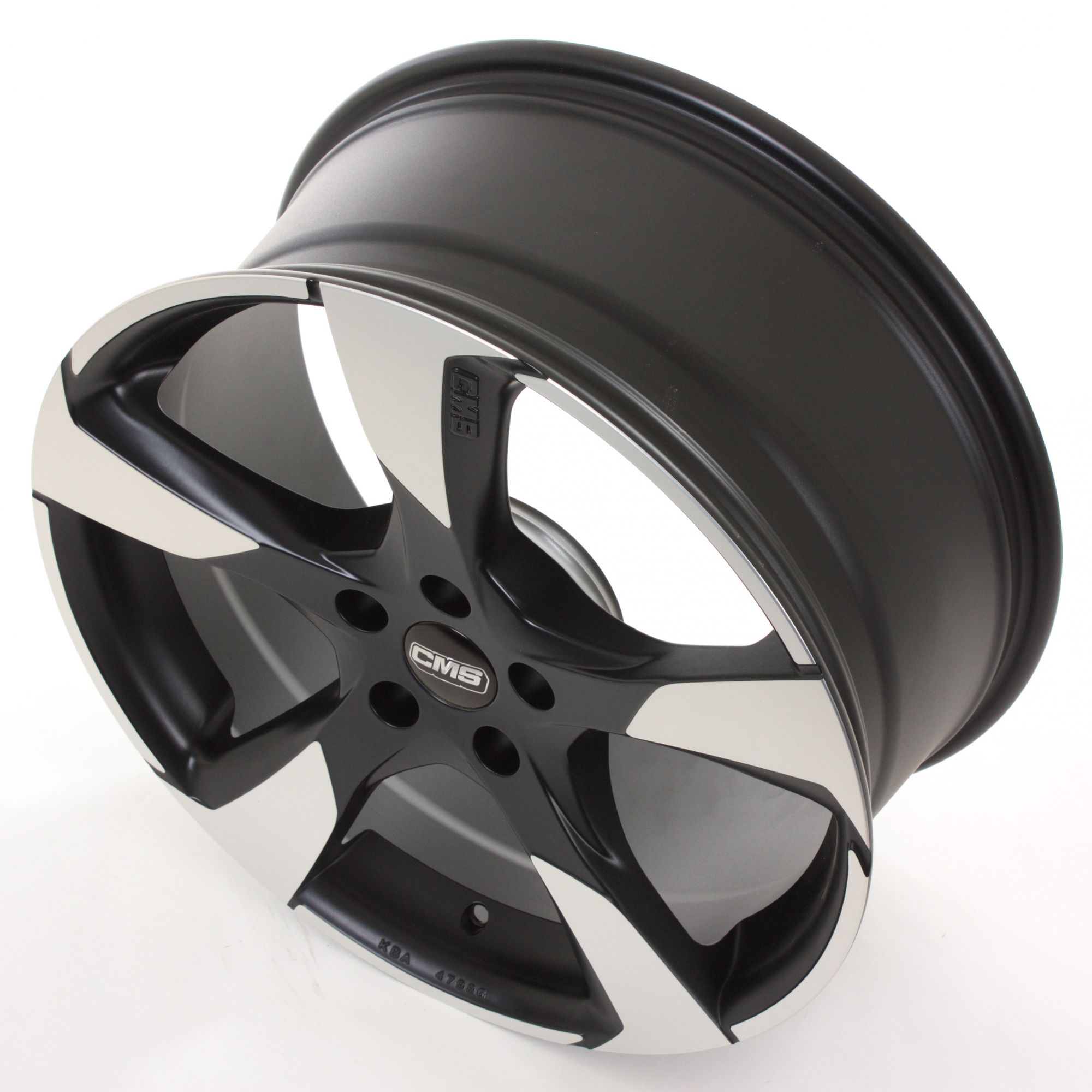 cms c18 felgen diamond matt black schwarz mehrfarbig in 16 zoll. Black Bedroom Furniture Sets. Home Design Ideas