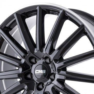 CMS C23 Diamond Rim Black