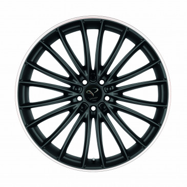 Corspeed Le mans+Trackspacer Mattblack Puresports / Color Trim weiss