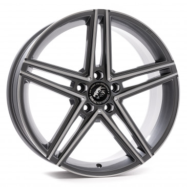 Damina Performance DM04 Anthrazit Polished