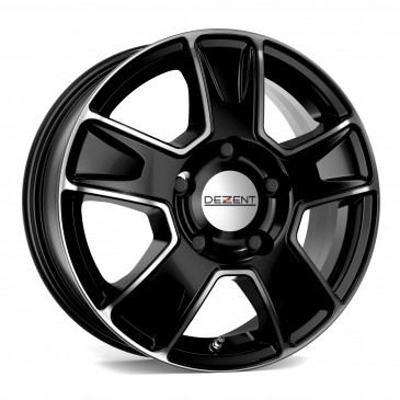 DEZENT VAN BLACK/POLISHED FRONT