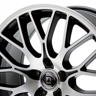 DIEWE WHEELS Fina Nero machined