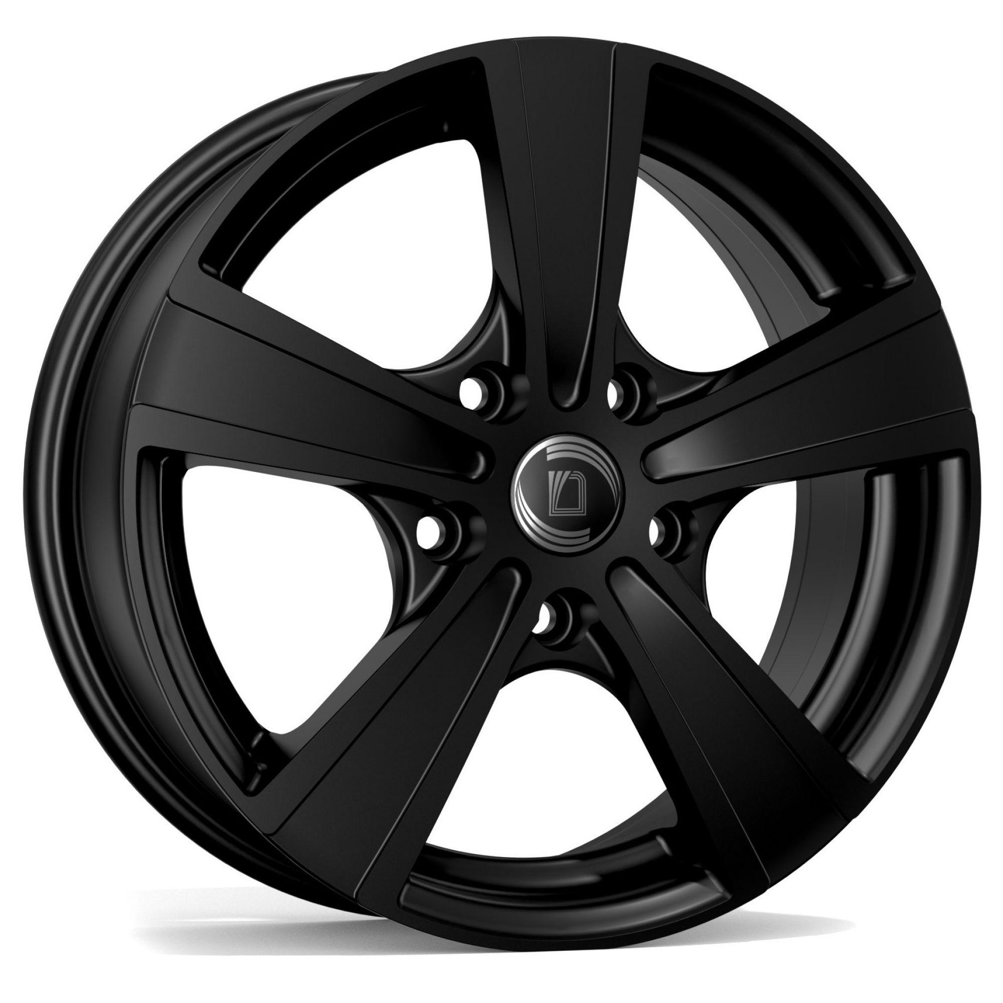 diewe wheels matto felgen nero grau schwarz in 15 zoll. Black Bedroom Furniture Sets. Home Design Ideas