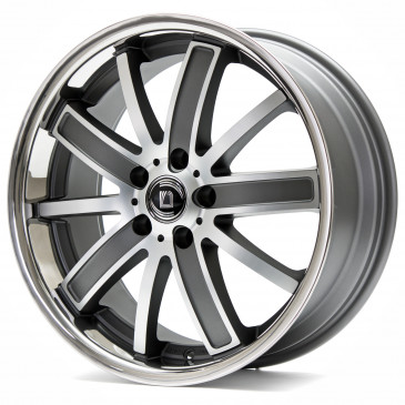 DIEWE WHEELS Sogno Platin machined