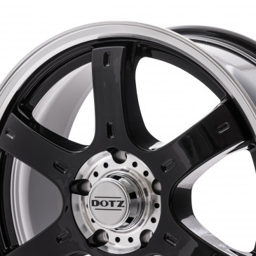 DOTZ Crunch Black/polished front