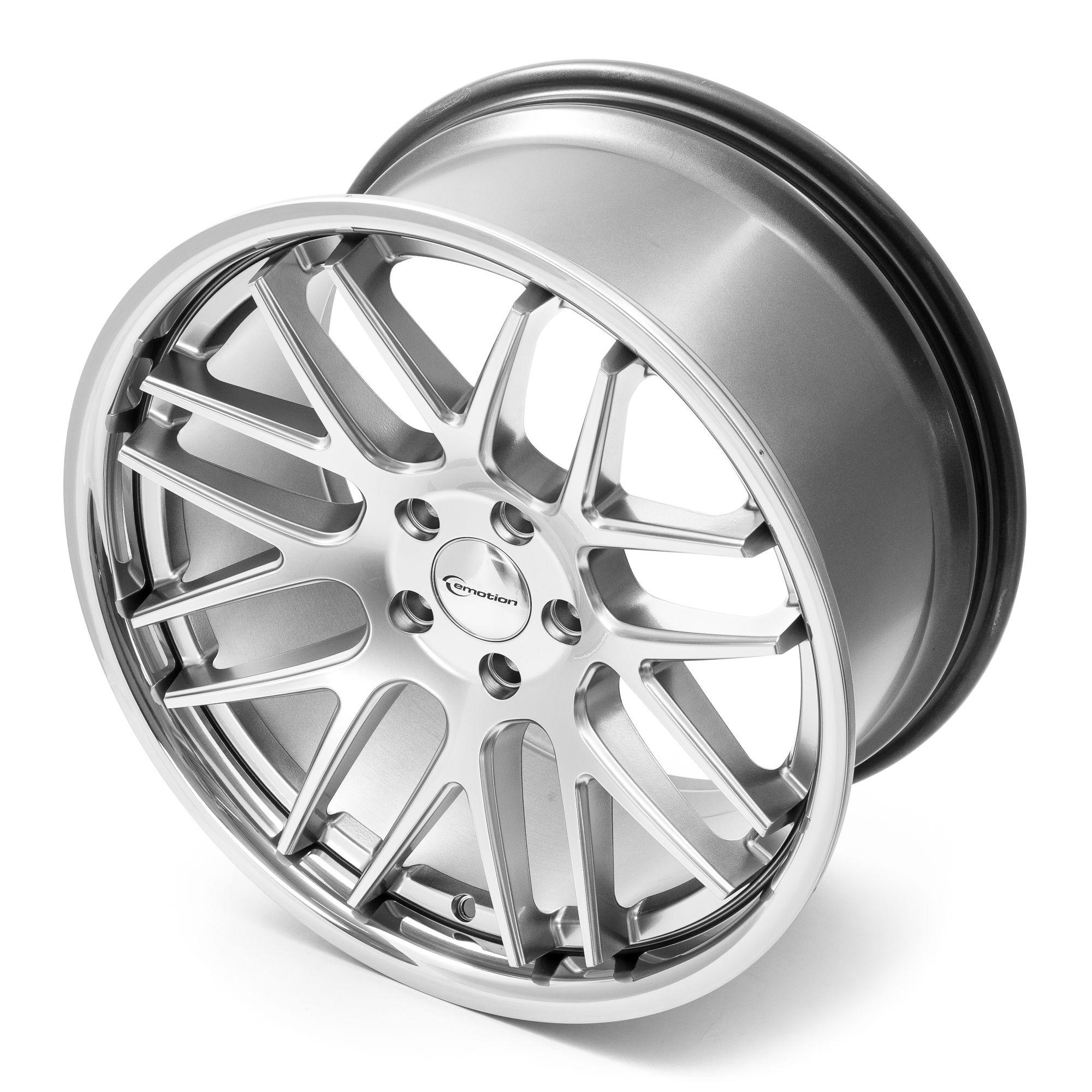 emotion wheels concave felgen hyper silver inox silber. Black Bedroom Furniture Sets. Home Design Ideas