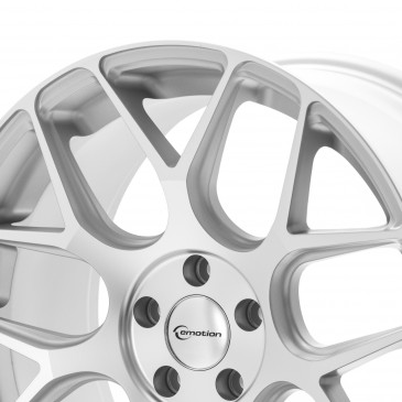Emotion Wheels Mash Concave silver matt