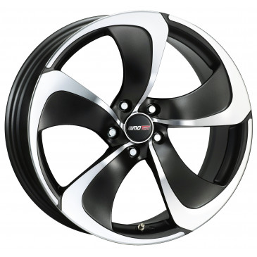 MOTEC MCT3 flat black polished