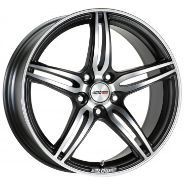 MOTEC MCT4 flat black metallic polished