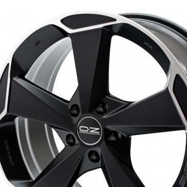 OZ RACING ASPEN HLT MATT BLACK POLIERT